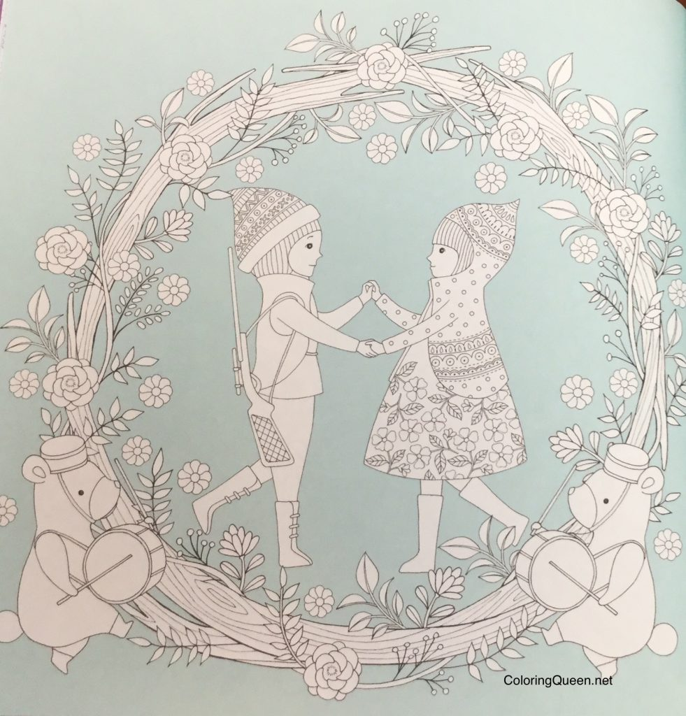 WonderlandJourneyColoringBookReview 15 981x1024 - Wonderland Journey Coloring Book