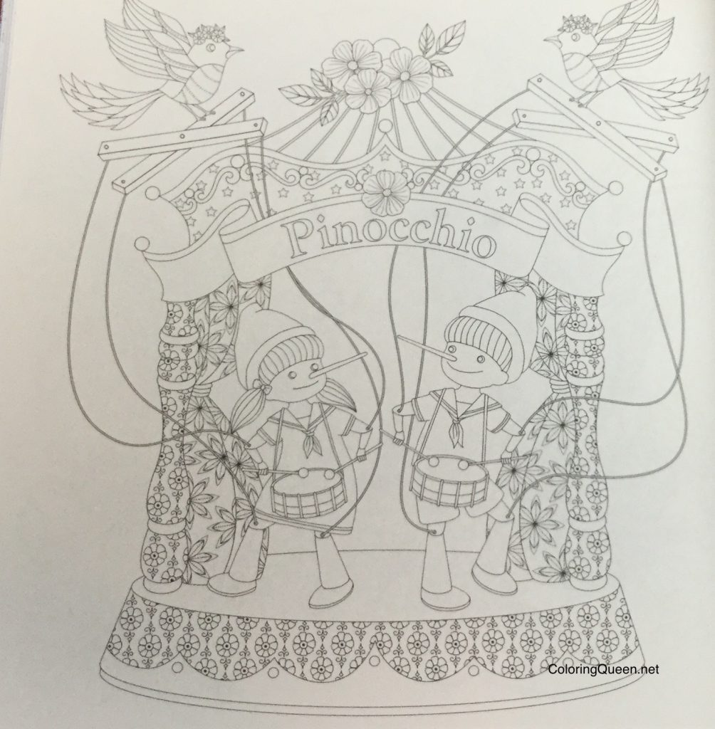 WonderlandJourneyColoringBookReview  1004x1024 - Wonderland Journey Coloring Book