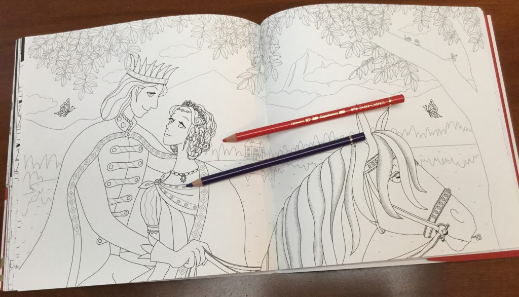 TheCinderellaStoryJapaneseColoringBook 2 1024x586 - Cinderella Story Coloring Book