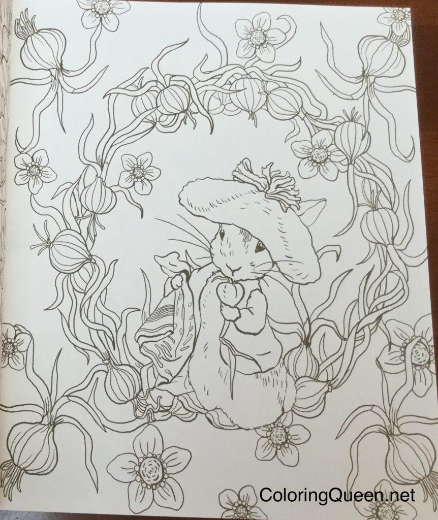 WorldofPeterRabbitColoringbook 0796 862x1024 - Peter Rabbit's World To Enjoy - Japanese Coloring Book