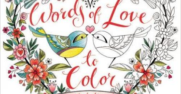 wordsoflovetocolor 375x195 - The Princess Bride:  A Story  Book To Color Review