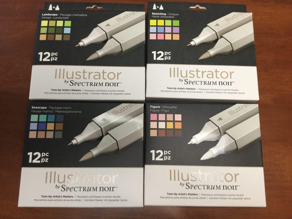 Spectrum noir illustrator markers unboxing coloring queen spectrum noir illustrator markers unboxing nvjuhfo Image collections