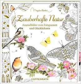 Meine Zauberhafte Natur  (My Magical Nature) Coloring Book Review