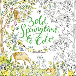 Bold Springtime to Color Coloring Book Review