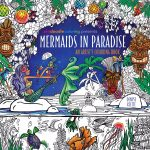 Mermaids in Paradise Coloring Book Cover 150x150 - Ticket to Dreams Coloring Book by Karolina Kubikowska