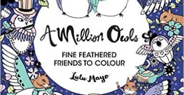 a million owls coloring book review