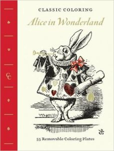 Classic Coloring: Alice in Wonderland Coloring Book Review
