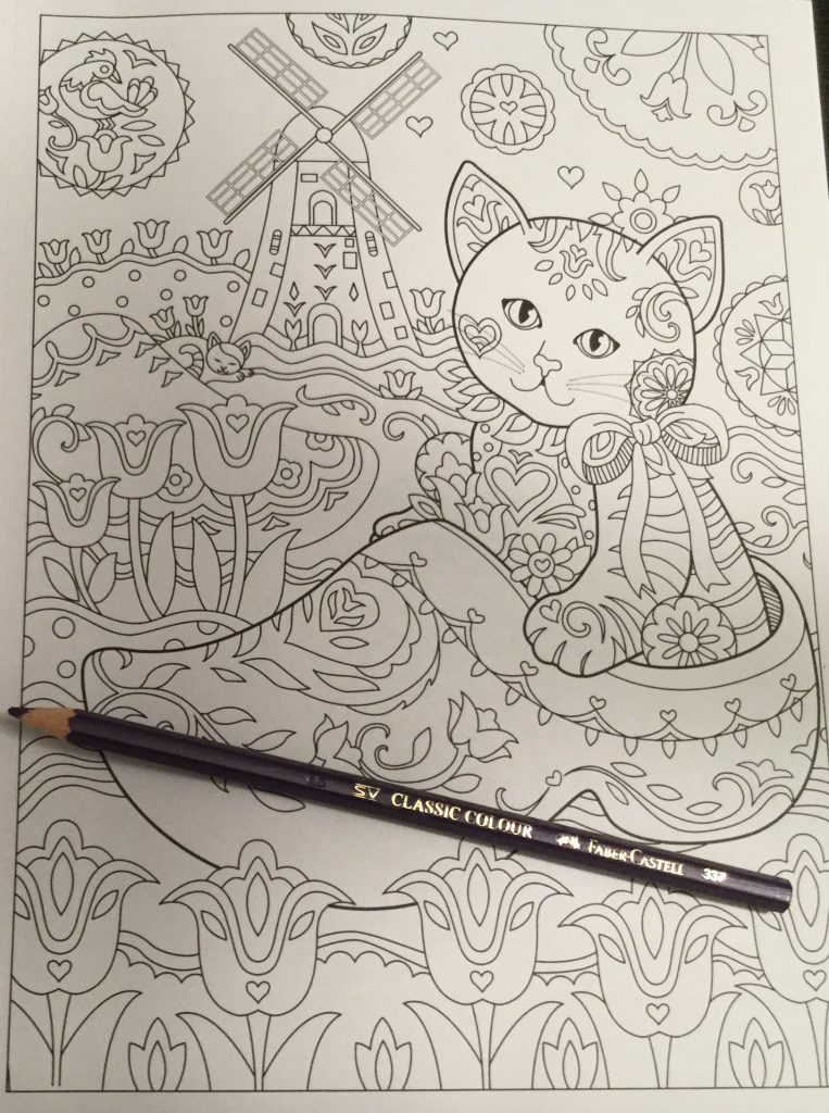 The Kittens In Creative Travel All Over These Ones Are Enjoying Dutch Lifestyle Coloring Book