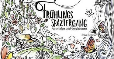 Mein Fruhlingsspaziergan Coloring Book Cover