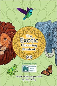 The Exotic Colouring Notebook