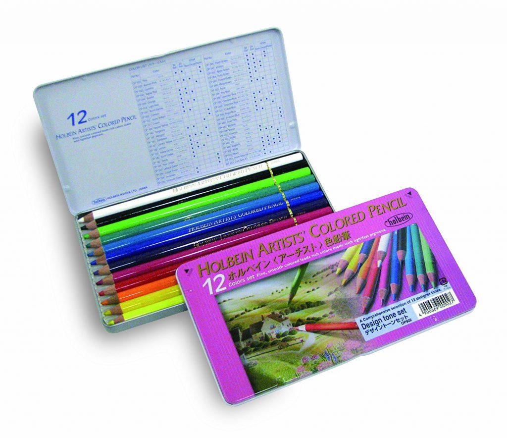 Design Tone Set 1024x884 - Holbein Colored Pencils (150 pc) Set Review
