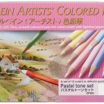 holbein pastel tone pencils 150x150 - The Time Garden A5 Notebook - Daria Song