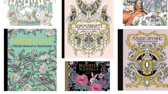 TICKET TO - Buying Swedish Coloring Books  just got cheaper!