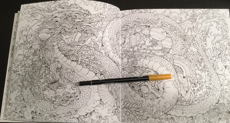 Mythomorphia: An Extreme Coloring and Search Challenge Coloring Book ...