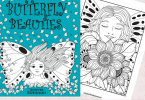 C 145x100 - Butterfly Beauties Coloring Book Contest & Giveaway