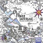 My Winter Walk German Coloring Book cover