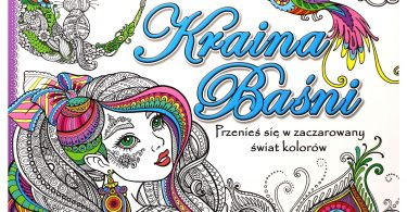 Kraina Basni Polish Coloring Book Cover