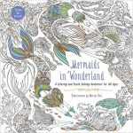 Mermaids in Wonderland Coloring Book cover