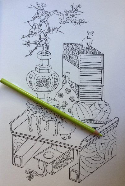 Korean Fairy Tale Hanbok Coloring Book 18 800x600 - Fairy Tale Korean Illustrations  - Hanbok  - Coloring Book Review