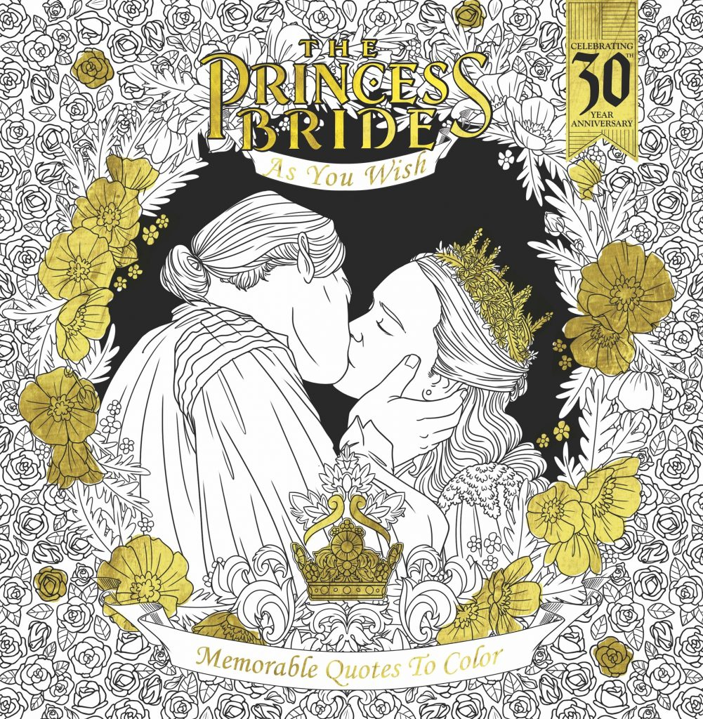 Cover reveal the princess bride as you wish memorable for Princess bride coloring pages