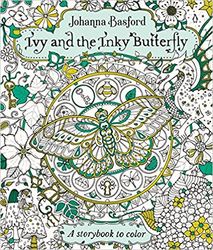 ivyandtheinkybutterflly - Ivy and the Inky Butterfly: A Storybook to Color