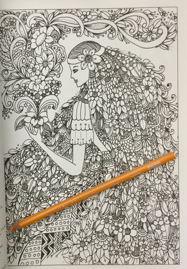 BellesandBlossomsColoringBookReview9 - Belles and Blossoms Coloring Book Review
