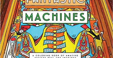 FantasticMachines2 375x195 - Belles and Blossoms Coloring Book Review