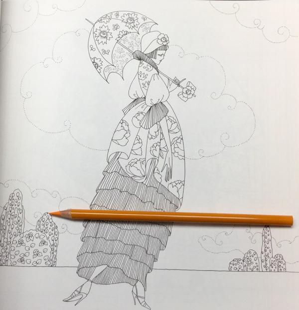 Fashion Colouring Book Tomoko Tashiro  27 - Fashion Colouring Book Review