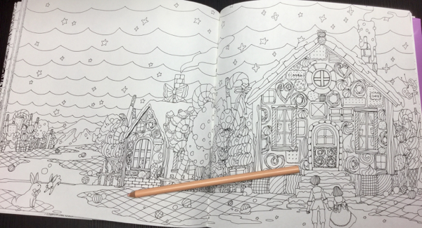 Grimms Marchen Fairy Tales Coloring Book Review   Coloring Queen