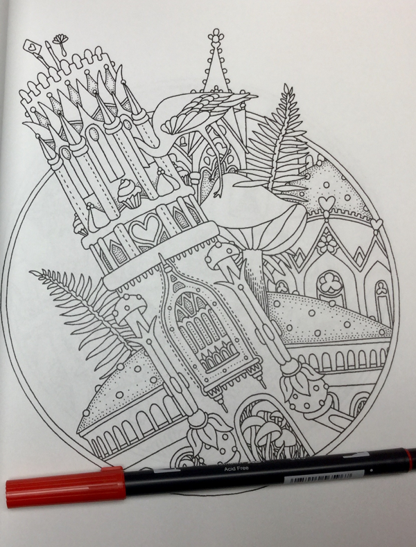 Alice in Wonderland Coloring Book Review | Coloring Queen