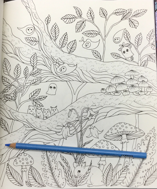 Skymningstimman Coloring Book Maria Trolle 11 - Skymningstimman Coloring Book Review