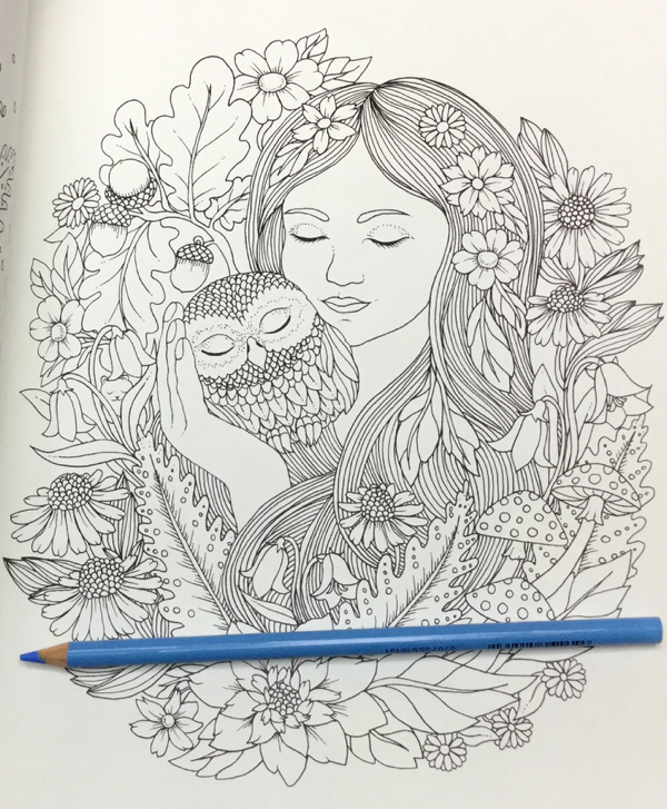 Skymningstimman Coloring Book Maria Trolle 14 - Skymningstimman Coloring Book Review