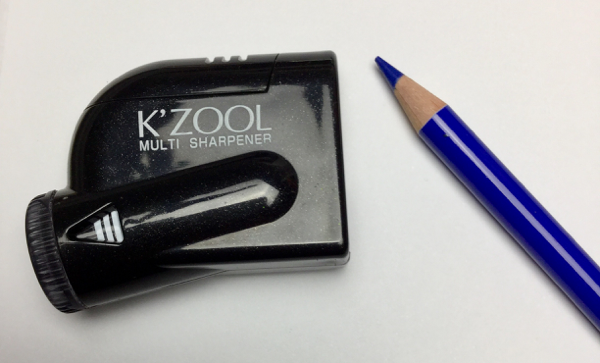Kzool sharpener with Holbein pencils
