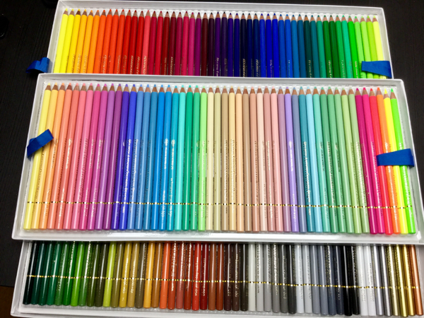 Holbein Colored Pencils (150 pc) Set Review | Coloring Queen