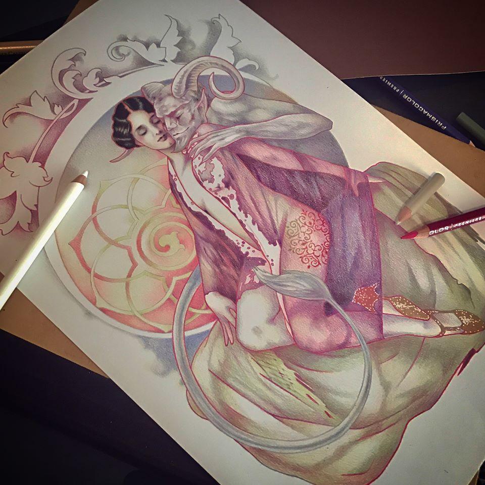 drawing - Lisa Mitrokhin