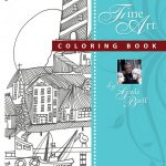 Scenic Lighthouses Gayle Barff Coloring Book 150x150 - Tiny Towns Coloring Book Review