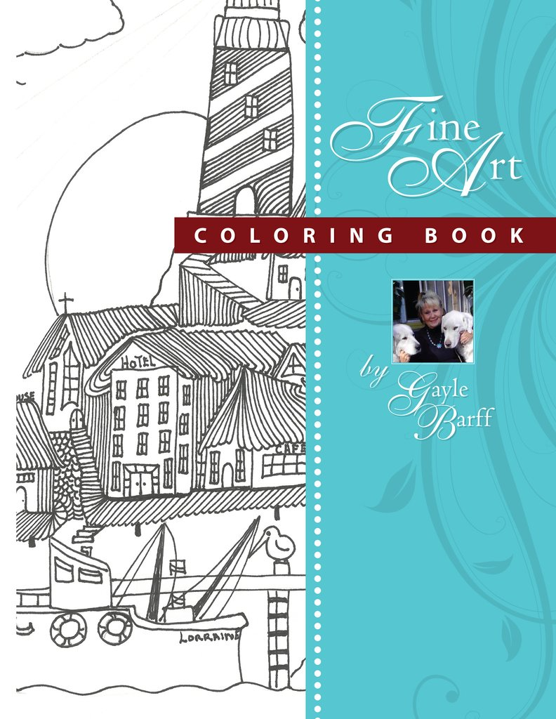 Scenic Lighthouses Coloring Book