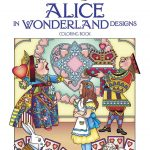 Alice in Wonderland Coloring Book Creative Haven