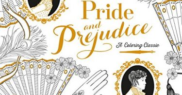 Pride and Prejudice Coloring Book cover
