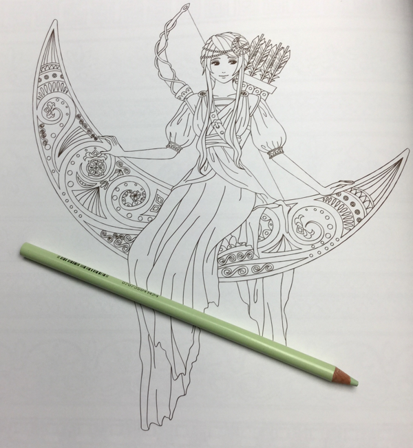 goddesses of greek myths coloring book review 23 - Goddesses of Greek Myths Coloring Book Review