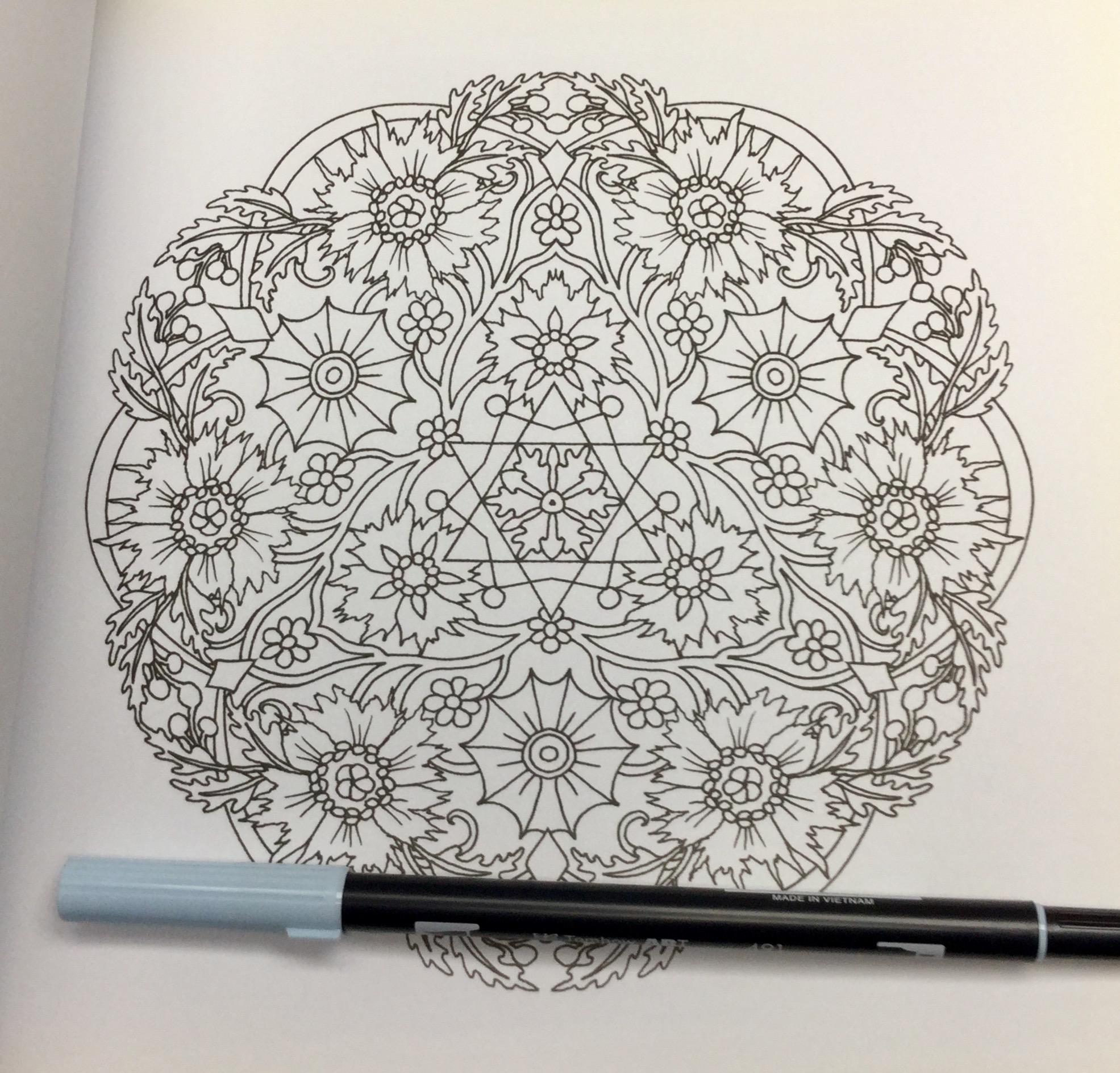 Flower Mandalas Coloring Book Review
