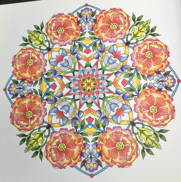flower mandalas colouring book review 10 - Flower Mandalas Coloring Book Review