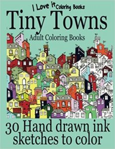 Tiny Towns Coloring Book Review