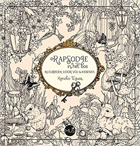 See Rapsodie In Het Bos Kleurtboek Which Is The Dutch Edition Of Japanese Coloring Book