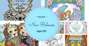 New Releases 375x195 - Vymalovánky II Cesta životem Coloring Book Review