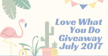 Love What You Do GiveawayJuly 2017 375x195 - The Day We Finally Meet Coloring Book Review