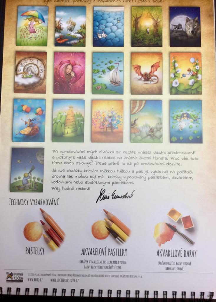 Vymalovanky cesta k sobe coloring book review  13 733x1024 - Vymalovánky - Cesta k sobě  Coloring Book  Review