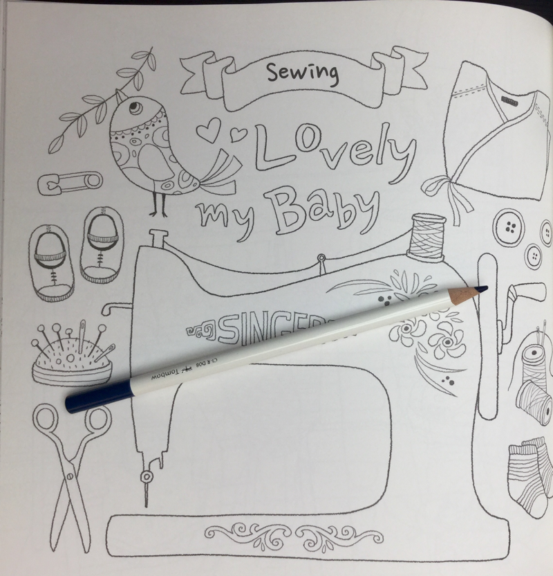 my lovely baby coloring book 18 - My Lovely Baby  Coloring Book Review