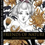 Friends of Nature Coloring Book Cover