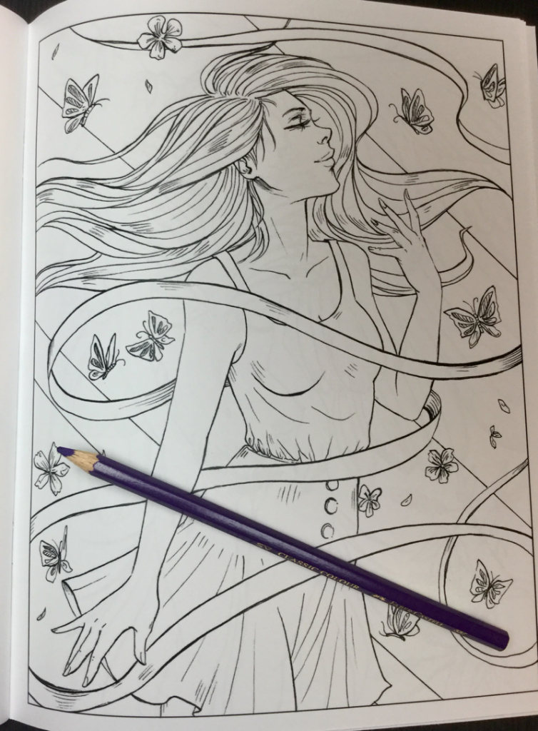 friends of nature coloring book 15 754x1024 - Friends of Nature Coloring Book Review